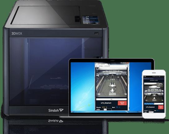 monitoring camera built in 3d printer