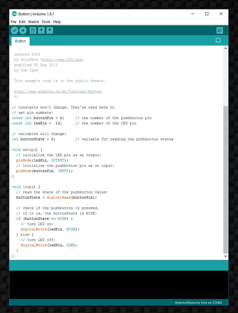 arduino programm