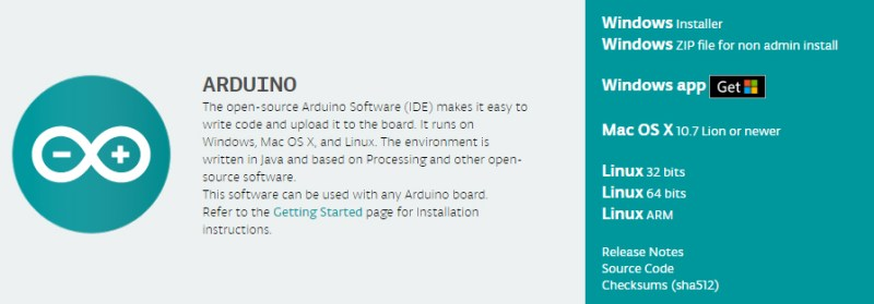 simple arduino projects for beginners Arduino software IDE download page