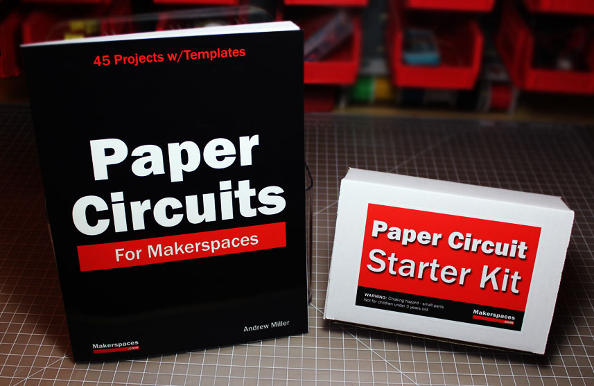 Paper Circuits Kit And Book Makerspace Projects