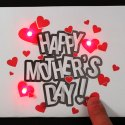 Mothers Day Paper Circuit Card