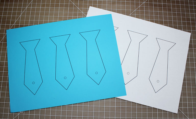 fathers day paper circuits card