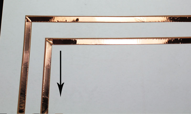 light up valentines day card makerspace project copper tape