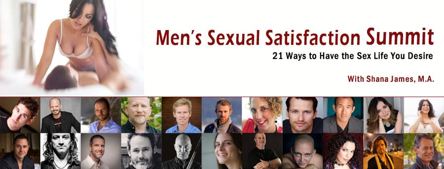Men's Sexual Satisfaction Summit