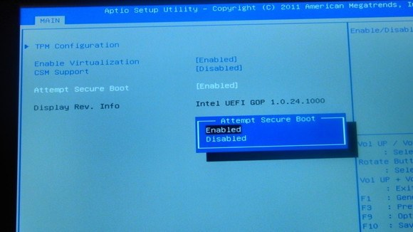 Secure Boot Windows 10