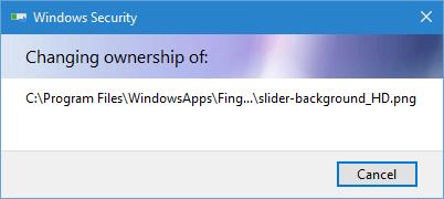 WindowsApps-Ordner-Berechtigungen ändern