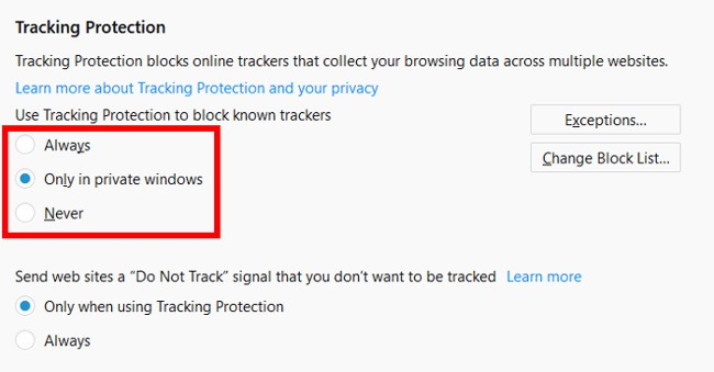 speed-up-firefox-quantum-tracking-protection
