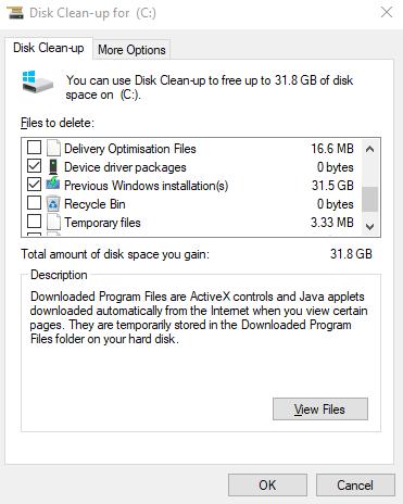 Make-Space-Clean-Up-C-Laufwerk-Clean-Up-System-Dateien