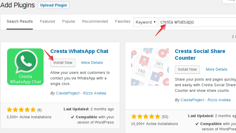 wordpress-whatsapp-install-cresta-plugin