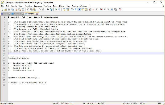 best-open-source-software-notepad