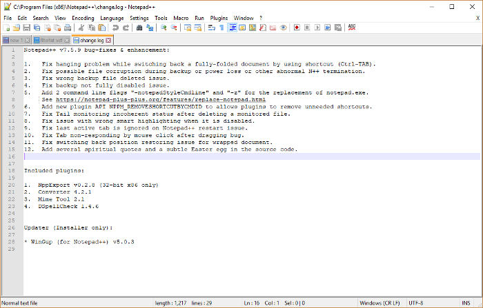 best-open-source-software-notepad