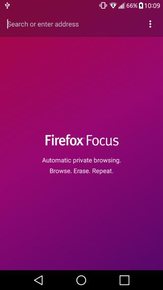 Uc Browser Alternativer Firefox-Fokus