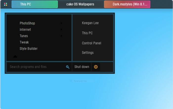 Beste Windows 10-Designs Cakeos