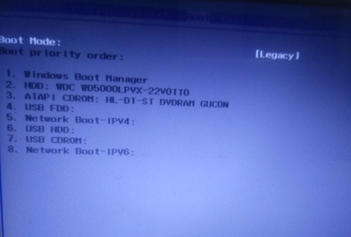 Windows 10 Boot Mode Legacy