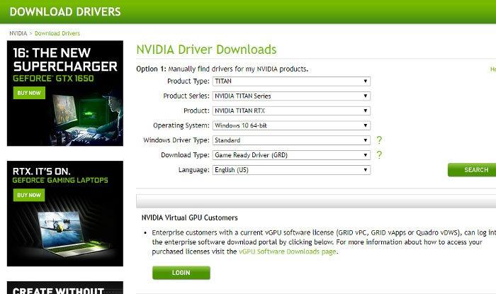 Fix Steam öffnet Nvidia-Treiber nicht