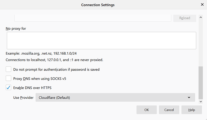Dns Over Https Enable Firefox Doh
