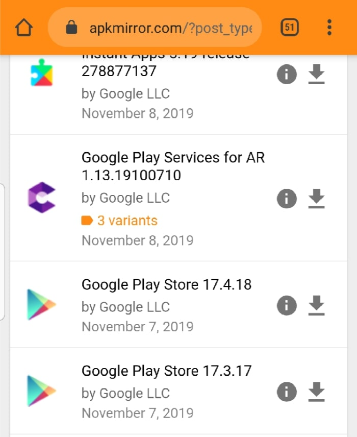 Download Install Google Play Apkmirror