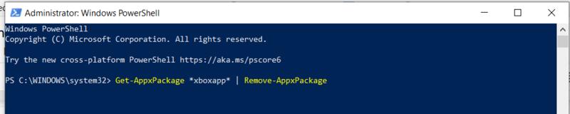 Bloatware entfernen Windows App-Paket entfernen
