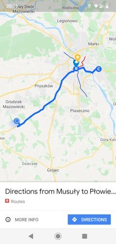 So speichern Sie die Route in Google Maps Fertig