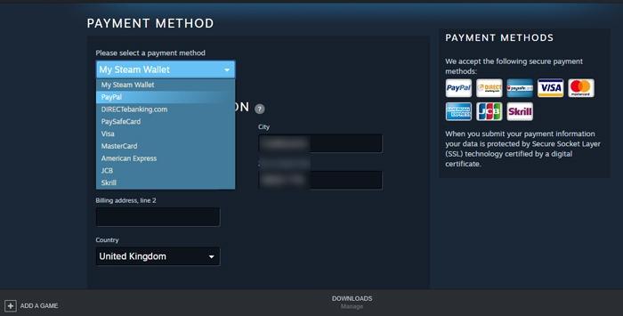 Steam funktioniert nicht Öffnen von Paypal Fix