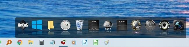 Beste Windows 10 App Docks Nexus Dock