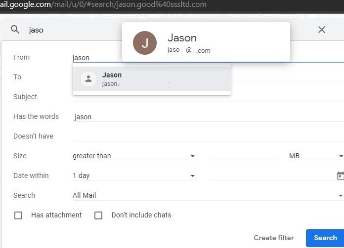Sortieren von Google Mail-Filtern nach Filter