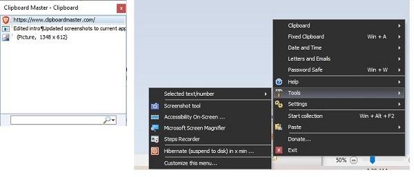 Beste kostenlose Zwischenablage-Manager für Windows Clipmaster