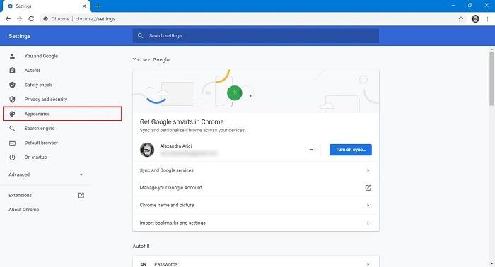 So ändern Sie das Erscheinungsbild der Google-Suche im Hintergrund Chrome