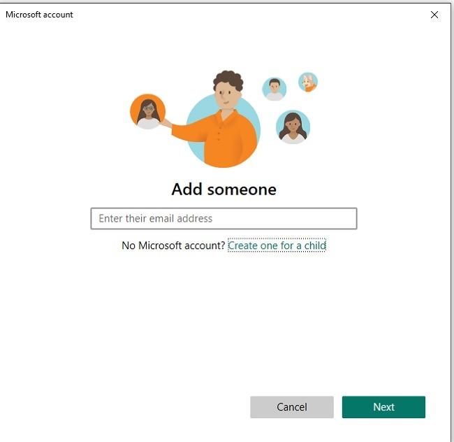 Einrichten der Sicherheitsfunktionen der Microsoft-Familie in Windows 10 Email