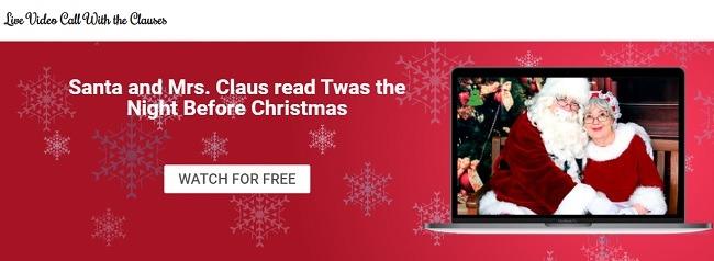 Wie Kinder mit dem Weihnachtsmann live chatten können