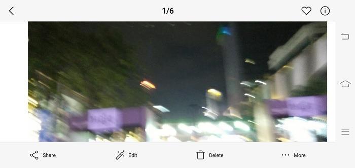 Verschwommenes Android Pic Beispiel