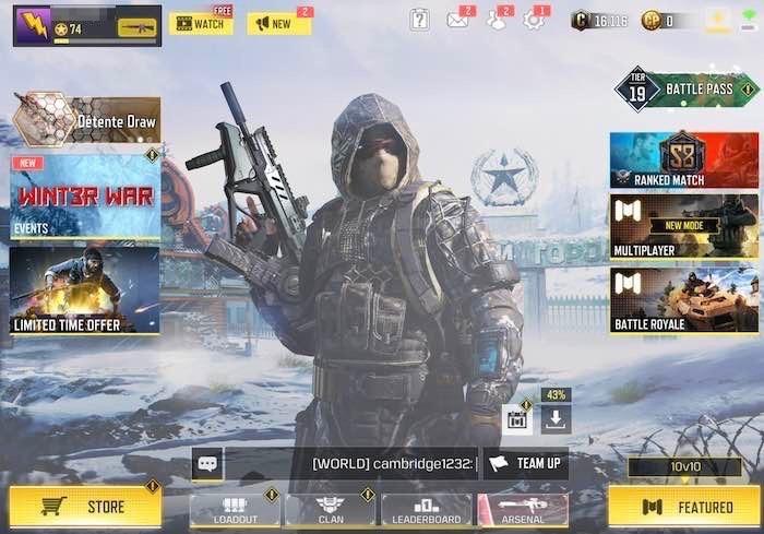 Beste Controller-Spiele Ios Call Of Duty 1