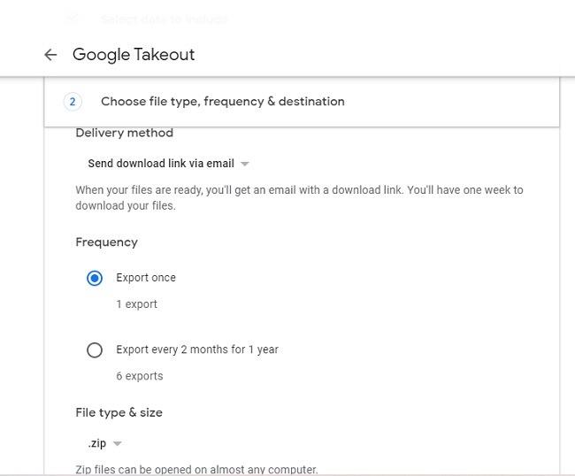 So sichern Sie Google Fotos auf Ihren Computeroptionen
