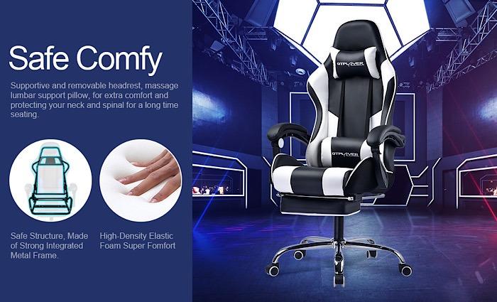 Deal Gtplayer Gaming Chair Blau