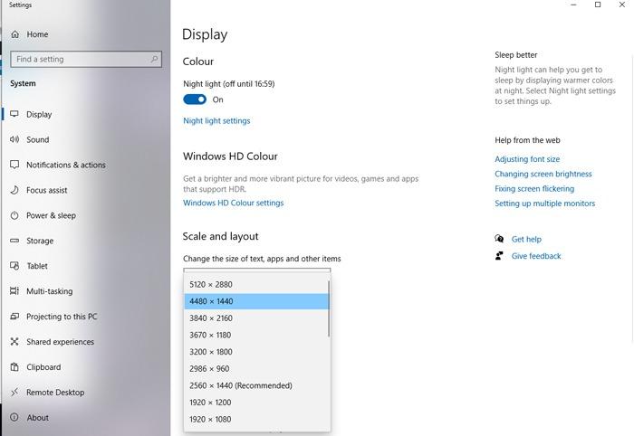 Einrichten der Windows-Anzeigeeinstellungen für Multi-Monitor-Spiele