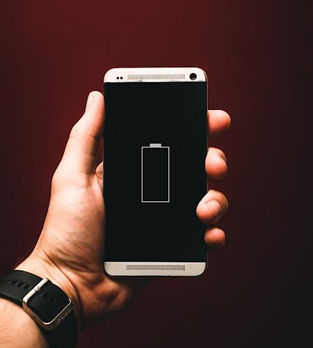 Neues Batteriematerial leer