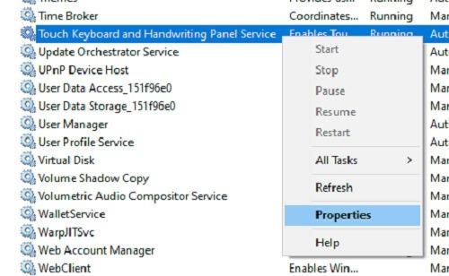 So beheben Sie Ctf Loader-Fehler in den Windows 10-Eigenschaften