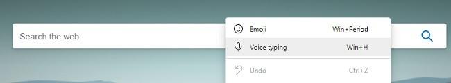So verwenden Sie die Spracheingabe in Microsoft Edge Neu
