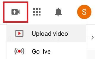Hochladen von Youtube Video Upload