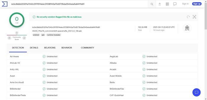 Как сканировать файлы Apk на наличие вирусов Virustotal