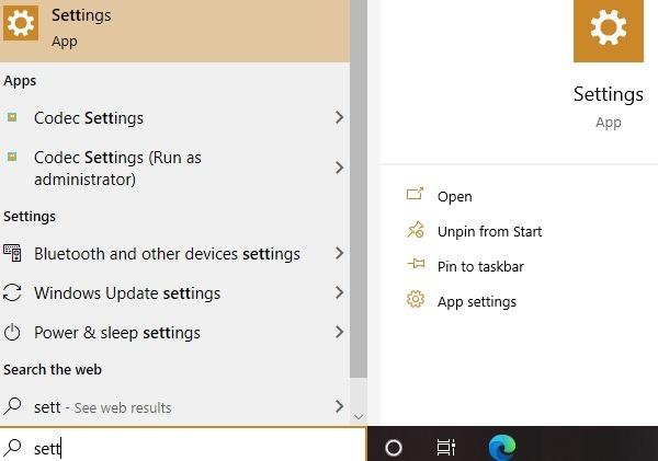 Ext. Mikrofon Windows-Einstellungen Startoption