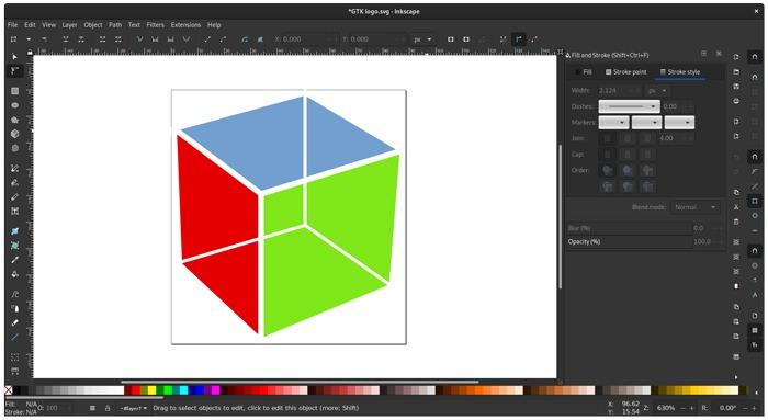 Kostenlose Grafikeditor-Software Inkscape