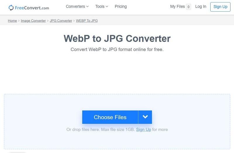 Freeconvert Convert Webp To Jpg