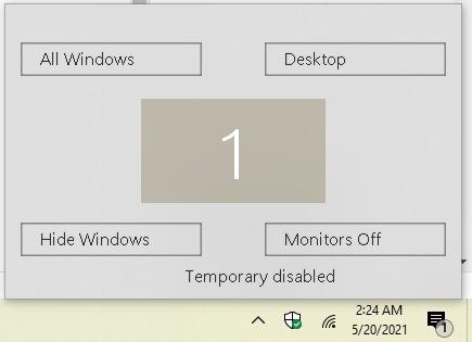 So sind Sie mit Hot Corners in Windows 10 produktiver Winxcorners Off