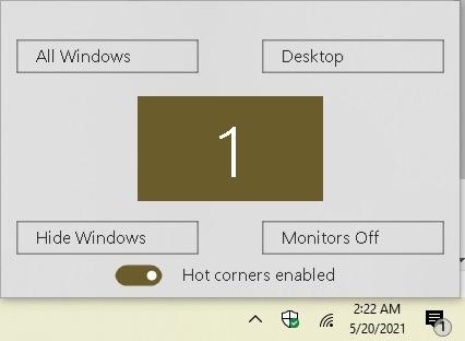 So arbeiten Sie mit Hot Corners in den Windows 10 Winxcorners-Einstellungen produktiver