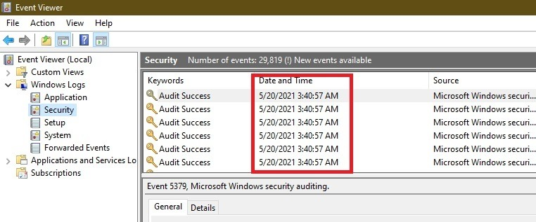 So erkennen Sie, ob sich jemand anderes bei Ihren Windows-PC-Anmeldungen anmeldet