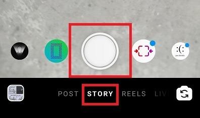 Bildunterschriften für Instagram Stories aufnehmen