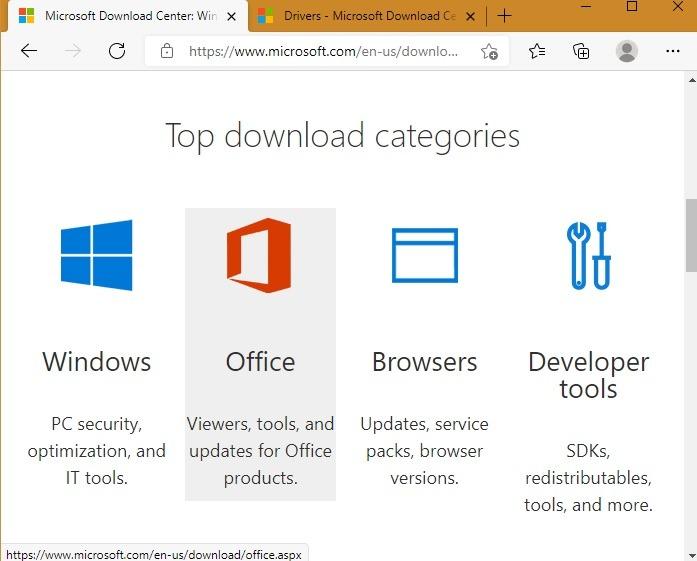 Sichere Download-Sites Microsoft Dot Com