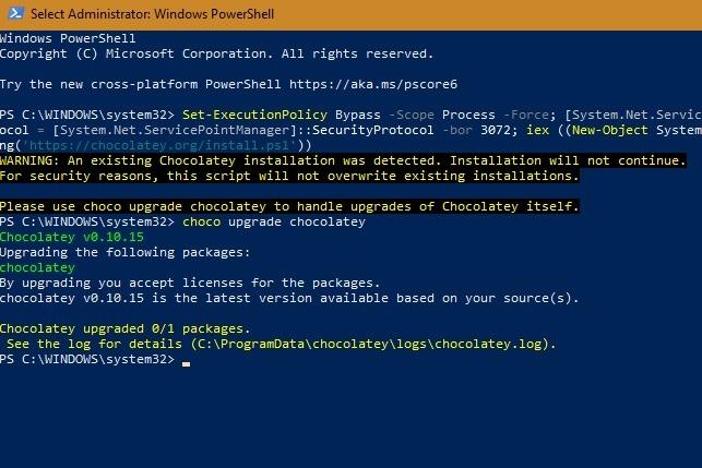 Schoko-Upgrade für Windows-Terminal