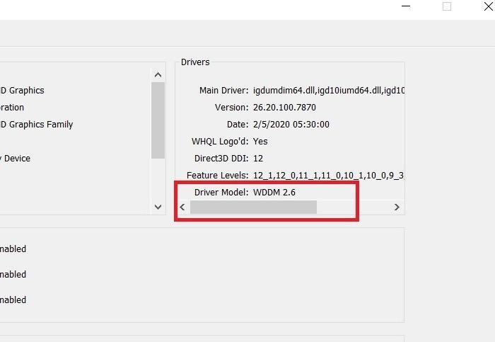 Windows11-Kompatibilität Wddm 2